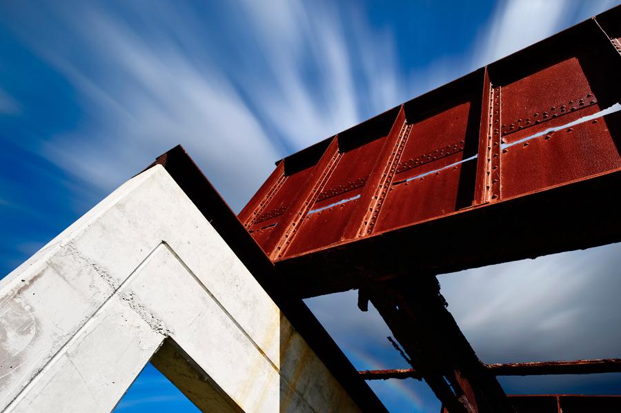 A ponte de ferro