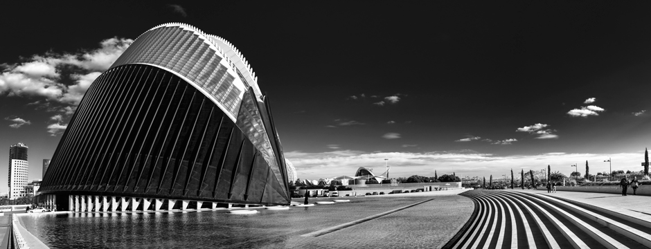 Valencia en monocromo