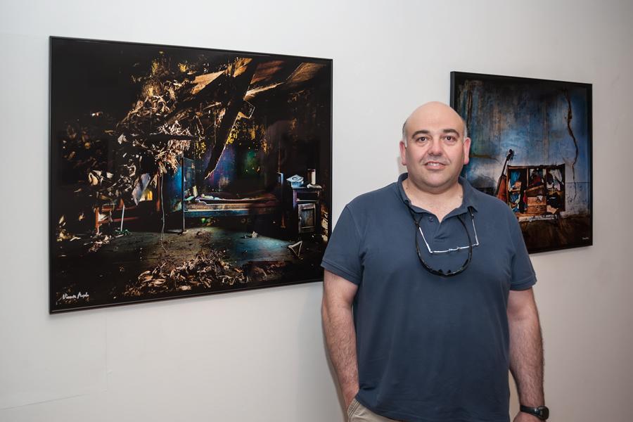 En la Expo de Vicente Ansola en Santiago